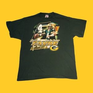 Vintage Brett Favre Green Bay Packers Tee